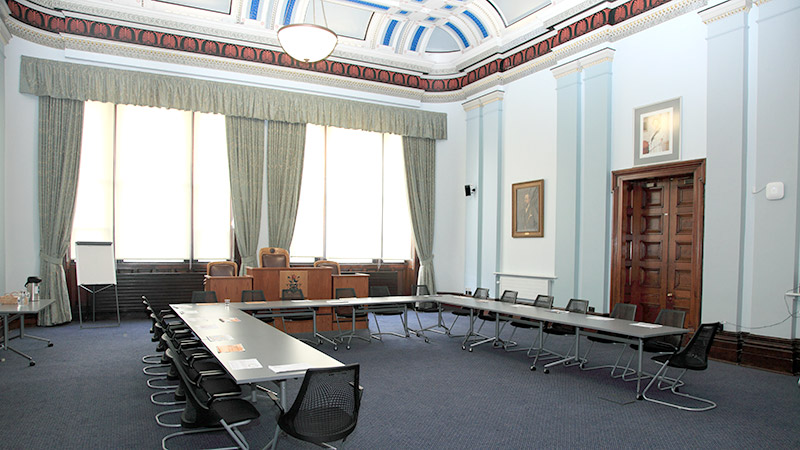 Council Chamber in Macclesfield Town Hall
