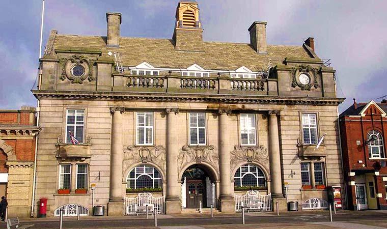 Crewe Municipal Buildings